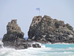 Greek flag by <b>Ludo M</b> ( a Panoramio image )