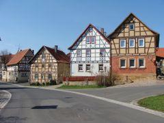 Irmelshausen Fachwerk-Quartett by <b>Contessa</b> ( a Panoramio image )