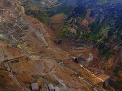 "Owakudani ""Great boiling valley"" ??? [ys-waiz.net] by <b>ys-waiz.net</b> ( a Panoramio image )"