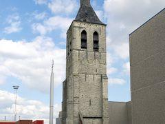 De kerk van het oude dorp Wilmarsdonk (B) dat plaats moest maken by <b>Corne Klijs</b> ( a Panoramio image )