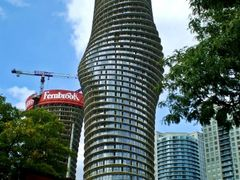 Mississauga Woman Building, under construction -  also known as  by <b>Tomros</b> ( a Panoramio image )