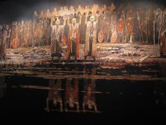 """Wall of Confession -  Vikings II"" - Moesgaard Museum, Aarhus, J by <b>Jan Sognnes</b> ( a Panoramio image )"
