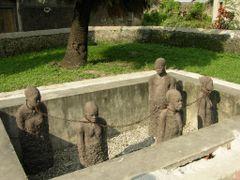 """Zanzibar - Stone Town - Monumento agli schiavi d""""Africa 2 (Slave by <b>Paolo Grassi</b> ( a Panoramio image )"""