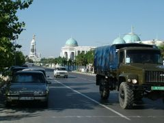 Ashgabat center, Turkmenistan by <b>Andrej Pausic</b> ( a Panoramio image )
