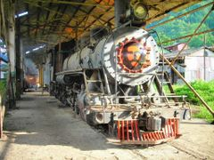 Vieja maquina del Ferrocarril del Sur (Old iron horse), CBCR) by <b>geotrivia.cr</b> ( a Panoramio image )