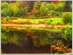 Mesel a to (IRORSZAG ,Glendalough magyarul ,,A Ket To Volgye,,). by <b>vterezia</b> ( a Panoramio image )