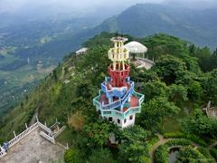 Sri Lanka Ambuluwawa Temple of 4religions by <b>paparazzistas</b> ( a Panoramio image )