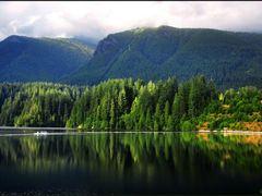 Capilano Lake by <b>Gabor Retei</b> ( a Panoramio image )