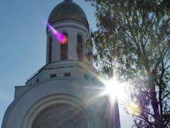 Russian Orthodox chapel by <b>Valdis Pilskalns</b> ( a Panoramio image )