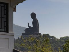 Giant Tian Tan Buddha, Lantau Island, Hong Kong by <b>picsonthemove</b> ( a Panoramio image )