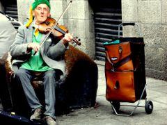 Irsk folkemusik i Dublin by <b>K. H. Johansen</b> ( a Panoramio image )