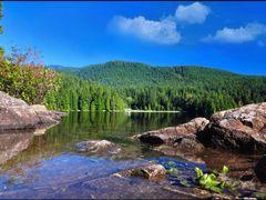Sasamat Lake by <b>Gabor Retei</b> ( a Panoramio image )
