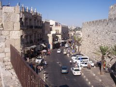 Jerusalem, Entrance to the Old Town at Jaffa Gate by <b>PeLei</b> ( a Panoramio image )