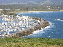 Marina (Coffs Harbour at o?clock) by <b>HaXoN</b> ( a Panoramio image )