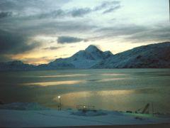 Kugnait during nightfall by <b>huneck</b> ( a Panoramio image )