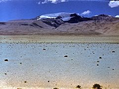 Desert Markansu in the Pamirs, in July 1978 by <b>Jurij Guseinov</b> ( a Panoramio image )