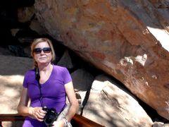 """Sudafrica - Montanas Drakensberg - Giant""""s Castle - Pinturas Bos by <b>Antonio Esteban</b> ( a Panoramio image )"""