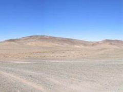 Gobi Desert panoramic, Mongolia. by <b>Finnbar</b> ( a Panoramio image )