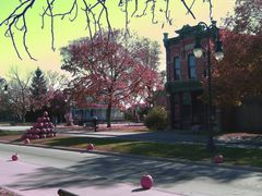 Greenfield Village in Halloween colours - Dearborn, MI, US by <b>Irene Kravchuk</b> ( a Panoramio image )