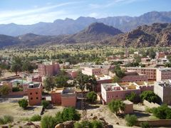 Tafraoute, south Morocco  by <b>elakramine</b> ( a Panoramio image )
