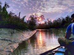 Sun set by <b>Shaikh Aslam Goni</b> ( a Panoramio image )
