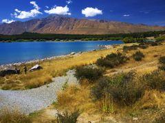 Blue & Gold@Lake Tekapo, NZ_18 Feb 2007 by <b>Tony Y.J. Chou</b> ( a Panoramio image )