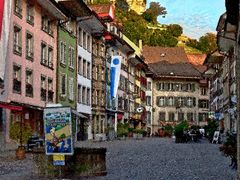 Altstadt_Lenzburg by <b>MaCello</b> ( a Panoramio image )