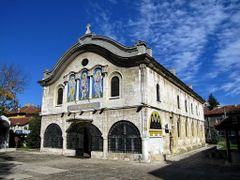 """Dobrich, Church """"St. Georgy"""", built 1864 by <b>aticank</b> ( a Panoramio image )"""