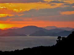 Sunset from near Afkule ruined Monastery - 2, Turkey. June 2010 by <b>beamish boy</b> ( a Panoramio image )