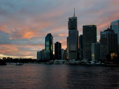 Brisbane river and CBD by <b>Varlamov Andrey</b> ( a Panoramio image )