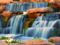 Richmond Green Waterfall by <b>Indonesia Jones</b> ( a Panoramio image )