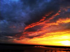 Heavenly Sunset by <b>iphotos</b> ( a Panoramio image )