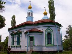 Orthodox church in Talas by <b>Evgeni Zotov</b> ( a Panoramio image )
