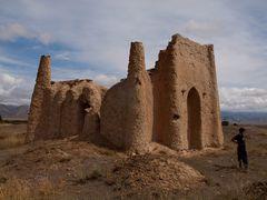 Taylik-batyr mausoleum by <b>Evgeni Zotov</b> ( a Panoramio image )