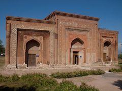 Karakhanid mausoleums in Uzgen by <b>Evgeni Zotov</b> ( a Panoramio image )
