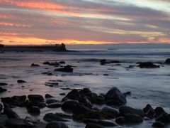 Sunset at La Jolla by <b>Danielcarlsbad</b> ( a Panoramio image )