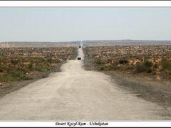 Panorama Desert Kyzyl Kum - Uzbekistan by <b>Sergej Esnault</b> ( a Panoramio image )