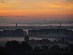 Maassluis - Hazy Sunrise by <b>Ria Maat</b> ( a Panoramio image )