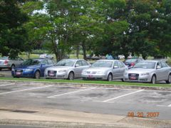 Audi lineup  by <b>Frank987ss</b> ( a Panoramio image )