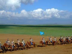 Horsemen of the Ghengis Khan Show by <b>Chouden Boy</b> ( a Panoramio image )