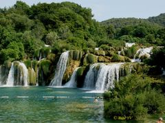 Falls of the river Krka. Водопады реки Крка by <b>Buts_YV</b> ( a Panoramio image )