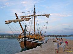 Quay at hotel Ivan. A tourist ship. Набережная у отеля Иван. Тур by <b>Buts_YV</b> ( a Panoramio image )