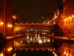 Birmingham Canal at Night Near Sea World.... by <b>Manoo G</b> ( a Panoramio image )