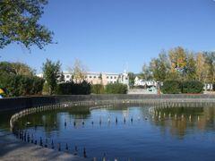 central garden by <b>Batjav Tsanjid</b> ( a Panoramio image )