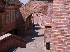 Sibiu, Orasul de jos, Zid de cetate. Sibiu, Lower City, Citadel  by <b>dannyl</b> ( a Panoramio image )