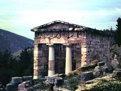 Apollotempel in Delphi by <b>© Didi S.</b> ( a Panoramio image )