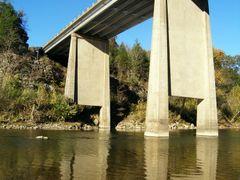 Buffalo River - Hwy 14 Bridge by <b>Geezer Vz</b> ( a Panoramio image )