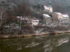 Karlstejn in The Snow II by <b>dbsfemino</b> ( a Panoramio image )