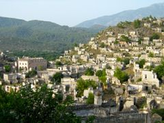 "Livisi, Greek ""Ghost Village"", Kayakoy Valley - 2, Turkey. June  by <b>beamish boy</b> ( a Panoramio image )"