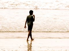 «BRZOSKWINIOWY CHLOPAK» for kasiulowa — Bali, Jimbaran ¦ by pila by <b>pilago</b> ( a Panoramio image )